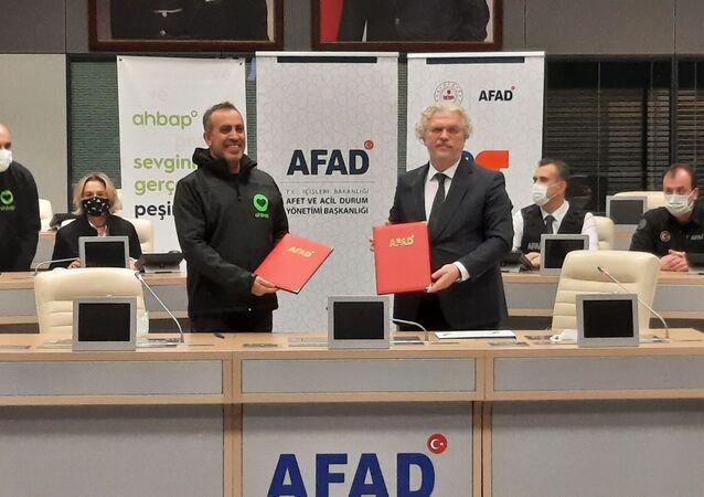 AFAD ile Ahbap Platformu arasında işbirliği protokolü imzalandı