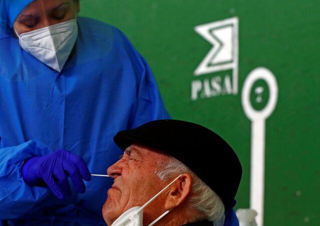 İspanya'da Kovid-19, Koronavirüs testi
