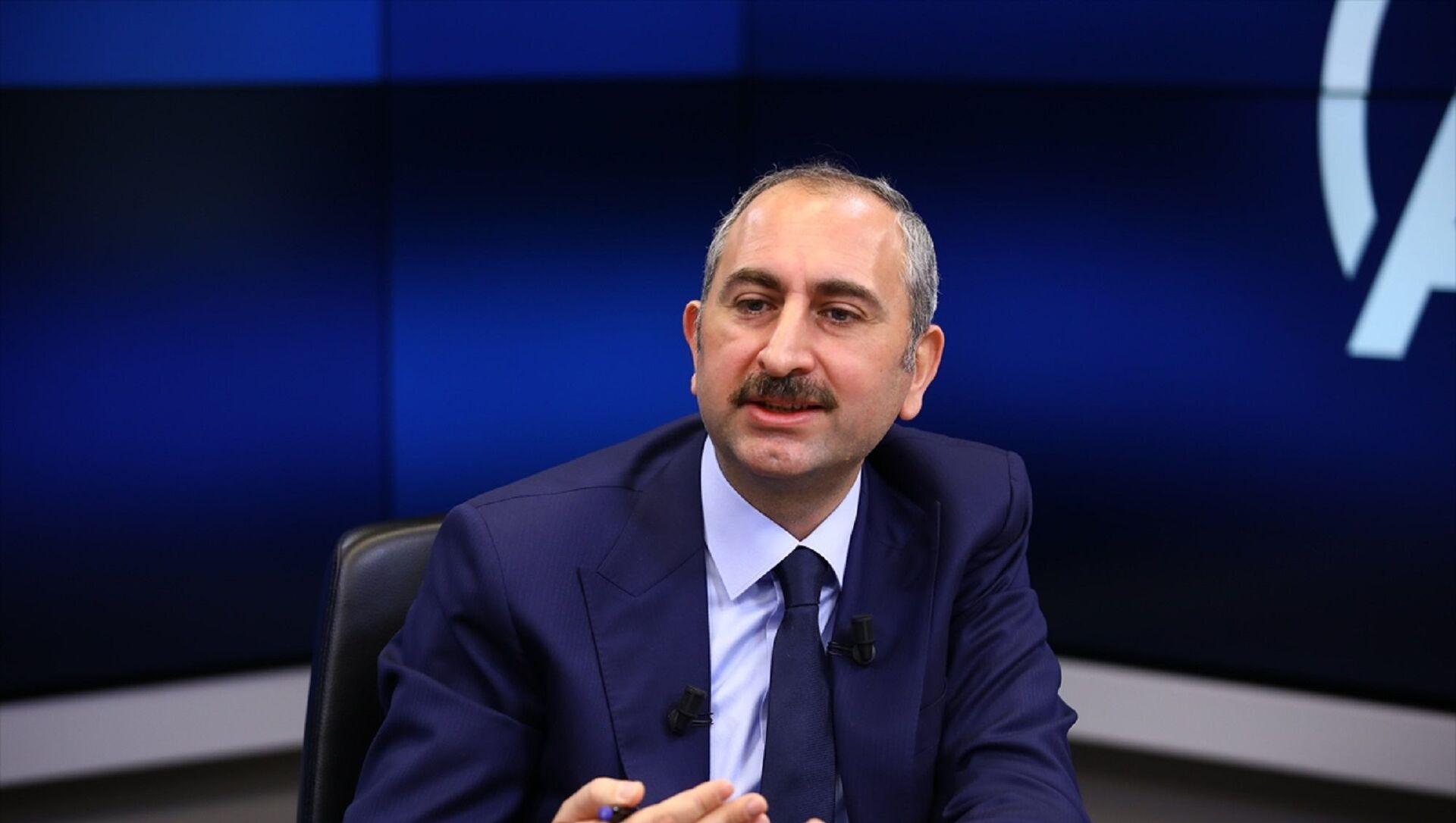 Adalet Bakanı Abdulhamit Gül - Sputnik Türkiye, 1920, 29.07.2021
