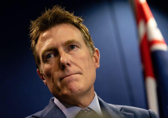 Christian Porter, Avustralya Adalet Bakanı