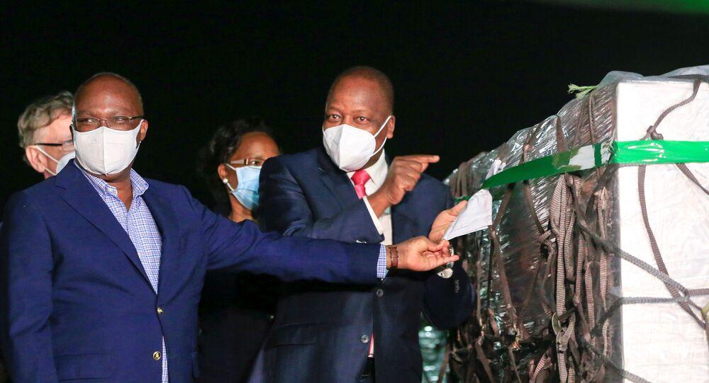 Kenya - kovid-19 aşı teslimatı
