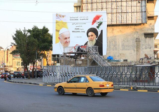 'Papa'nın Irak ziyaretinden İran karşıtı Şiiler mutlu'