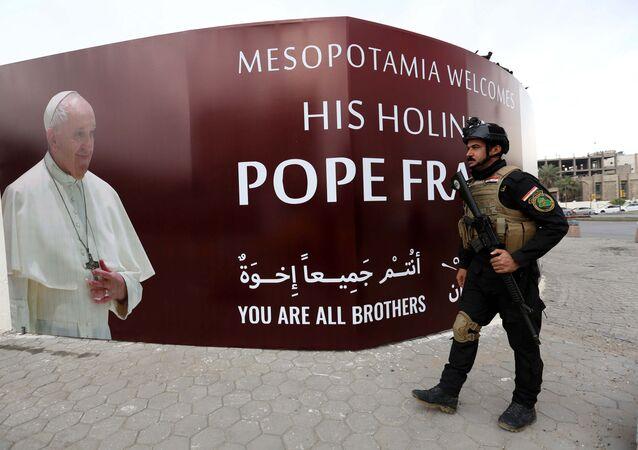 Irak'ta Papa için hazırlıklar tamam