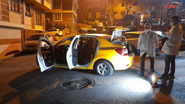 Taksici saldırı - Sputnik Türkiye