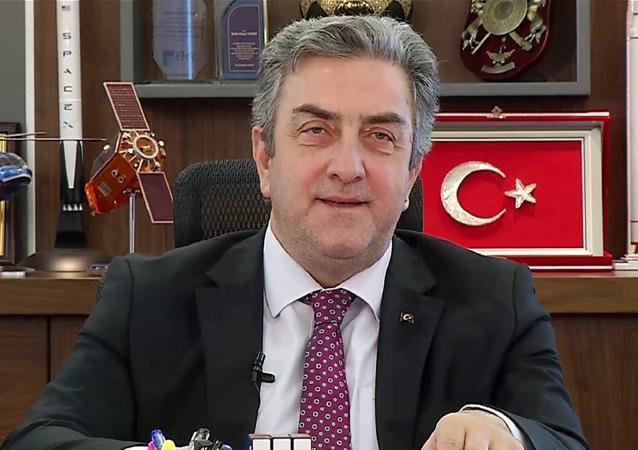 Türkiye Uzay Ajansı (TUA) Başkanı Serdar Hüseyin Yıldırım