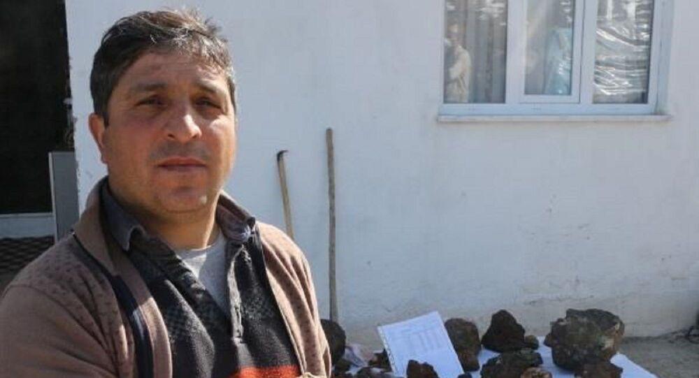 Tokat'ın Artova ilçesinde çobanlık yapan Nurullah Afacan