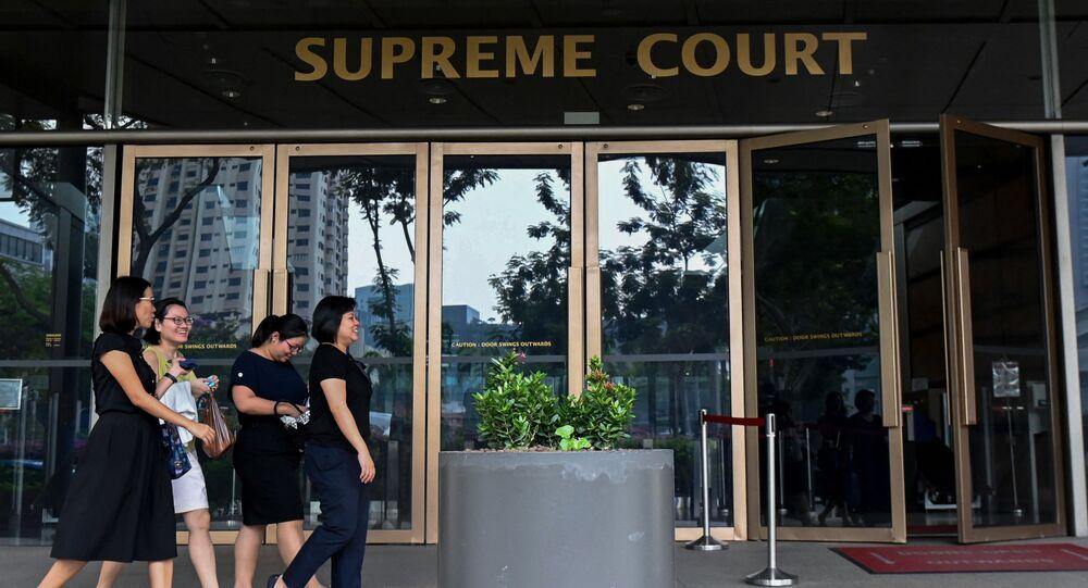 Singapur - mahkeme