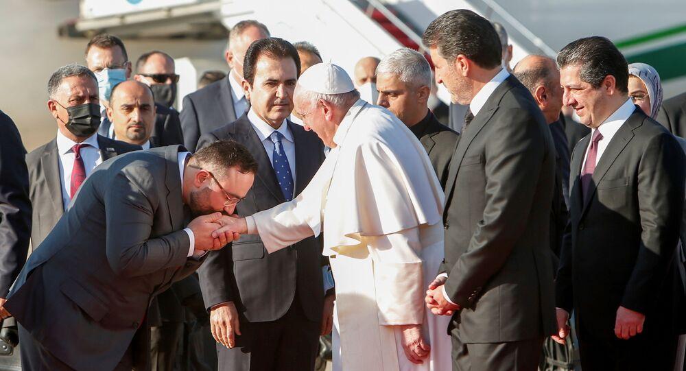 Papa Francis- Erbil