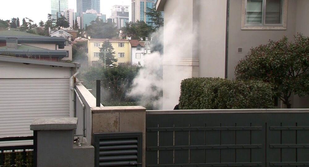 Cem Yılmaz'ın evi yangın