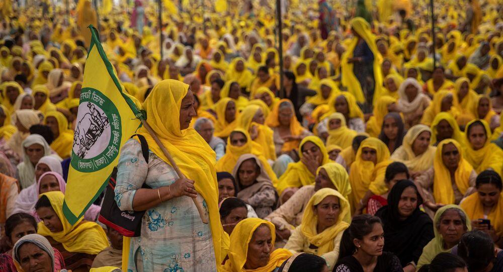 Hindistan - protesto - kadın
