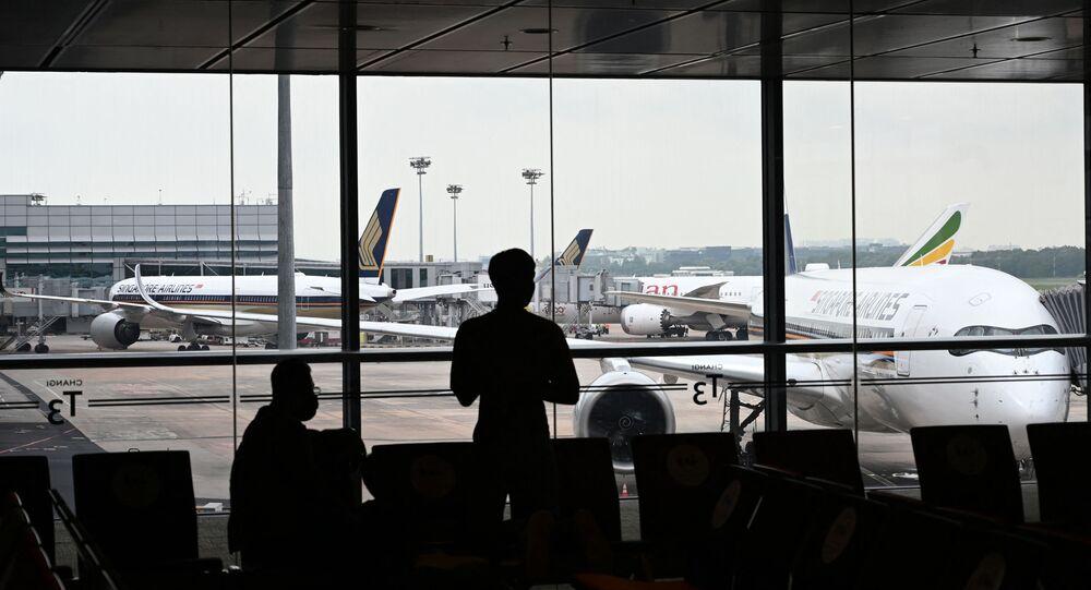 Singapur - havaalanı - koronavirüs