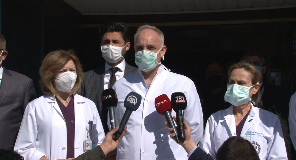 Rasim Öztekin, Siyami Ersek Hastanesi, Prof. Dr. Cevdet Uğur Kocaoğulları,