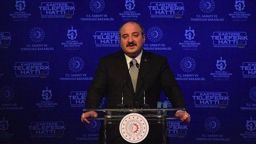 Sanayi ve Teknoloji Bakanı Mustafa Varank, Kocaeli`de