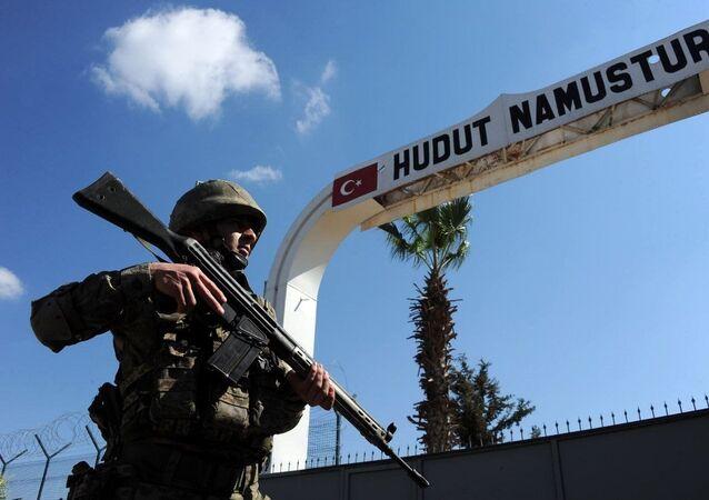 Türkiye sınır hattı