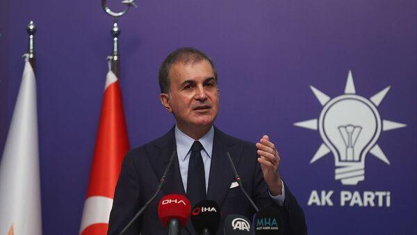 AK Parti Sözcüsü Ömer Çelik - Sputnik Türkiye