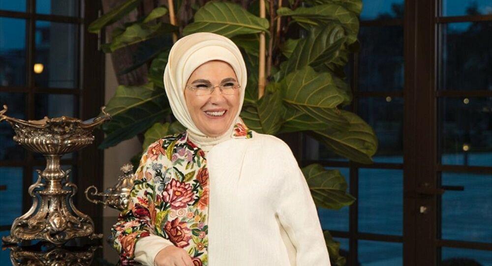 Türkiye Cumhurbaşkanı Recep Tayyip Erdoğan'ın eşi Emine Erdoğan