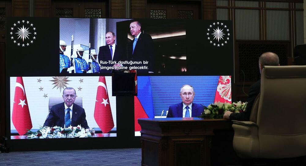 Akkuyu Nükleer Güç Santrali'nin Üçüncü Ünitesinin Temel Atma Töreni