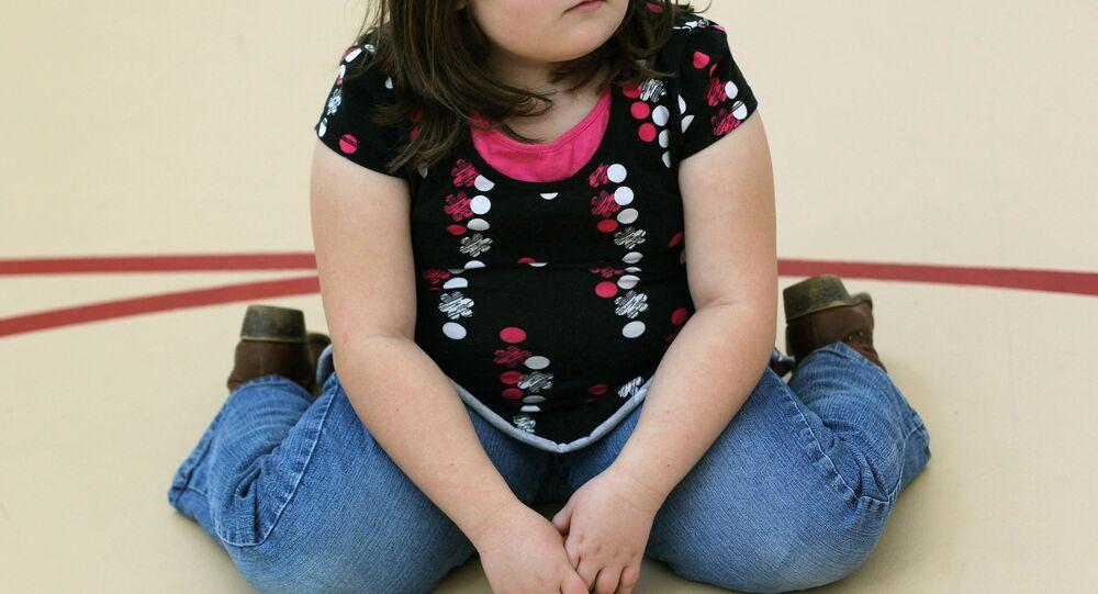 Obezite - çocuk - obez çocuk