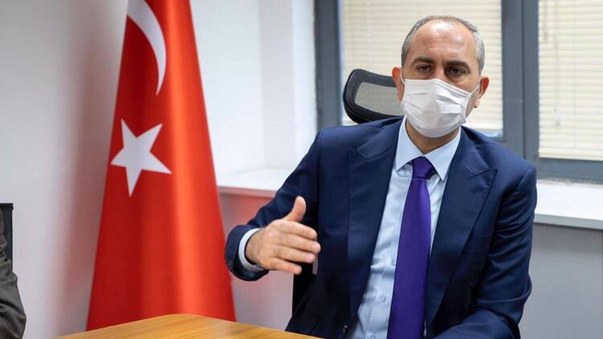 Adalet Bakanı Abdülhamit Gül - Sputnik Türkiye, 1920, 15.06.2021