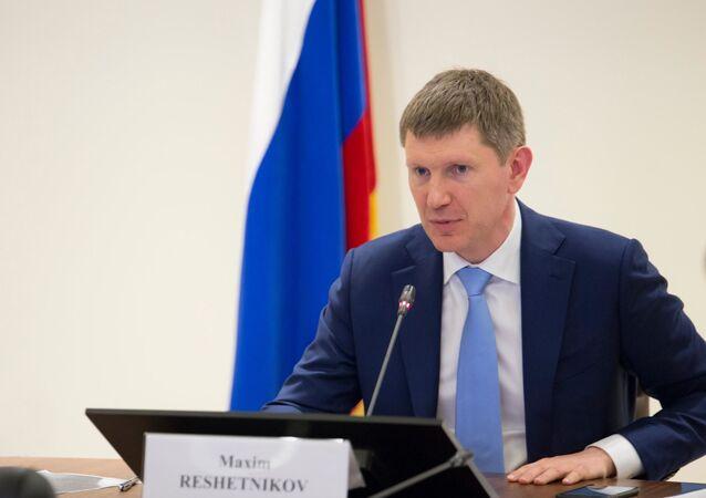 Rusya Ekonomik Kalkınma Bakanı Maksim Reşetnikov
