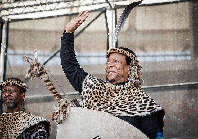 Zulu Kralı Goodwill Zwelithini