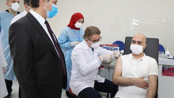yerli aşı, Erciyes Üniversitesi, Faz-2 çalışmaları - Sputnik Türkiye
