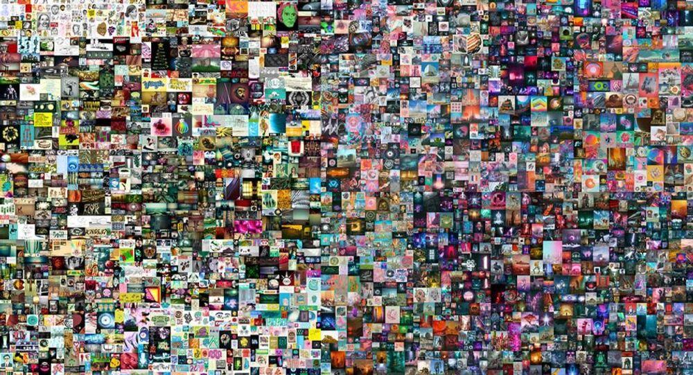 Dijital eserin jpg dosyası 69 milyon dolara satıldı