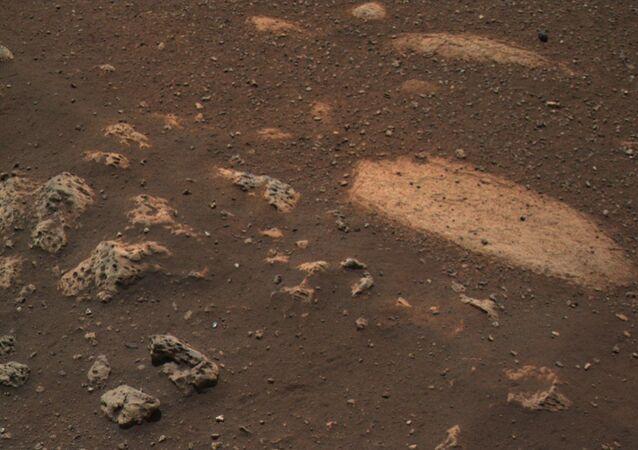 NASA, Perseverance'ın Mars'a iniş anına ait yeni görüntü yayınladı