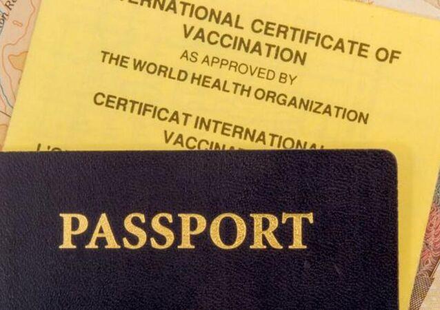 AB'nin aşı sertifikası