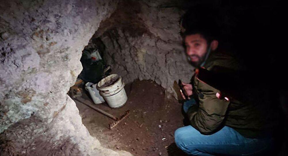 Mağarada suçüstü yakalandılar: Define için kazı yaptıkları ortaya çıktı