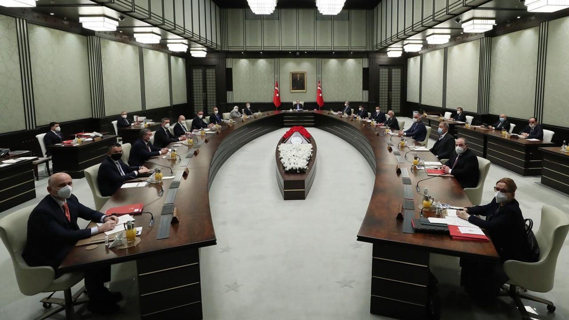 Kabine toplantısı - Sputnik Türkiye, 1920, 01.08.2021