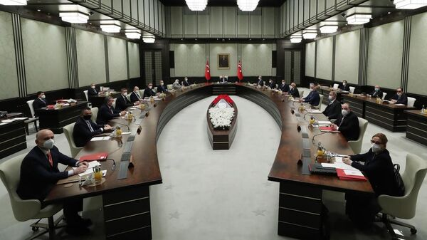 Kabine toplantısı - Sputnik Türkiye