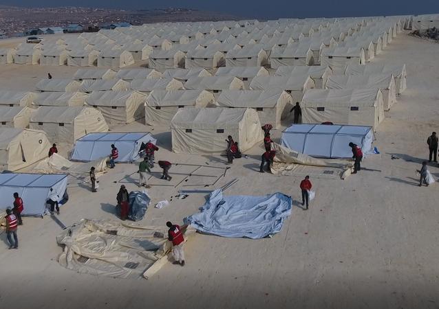 Suriye'ye Türk Kızılayı yardımları