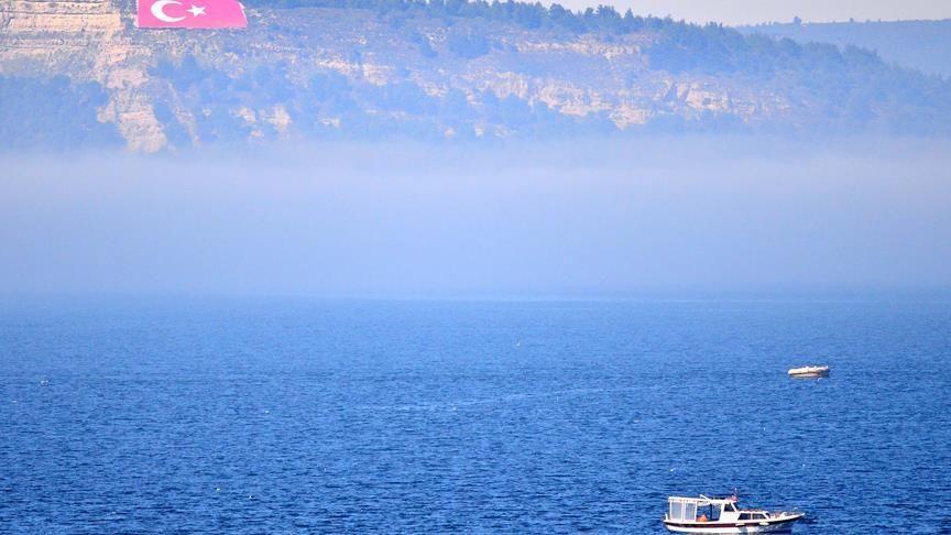 Çanakkale yoğun sis