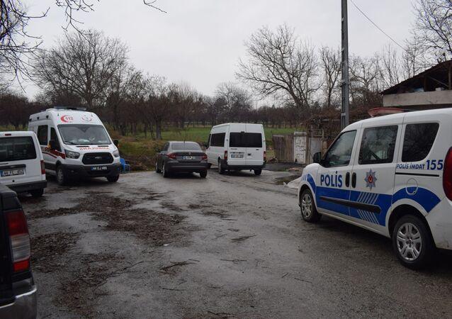 Babasını öldüren lise öğrencisinin evi, Malatya