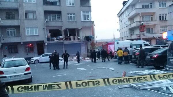 Gaziosmanpaşa-doğalgaz patlama - Sputnik Türkiye