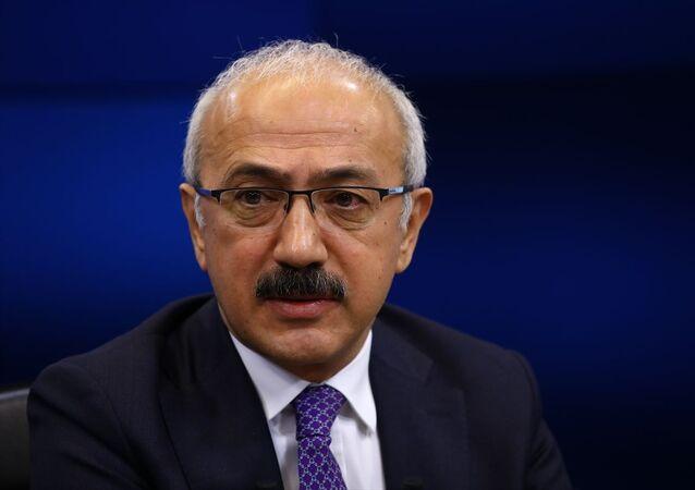 Hazine ve Maliye Bakanı Lütfi Elvan, Anadolu Ajansı (AA) Editör Masası'na konuk oldu.