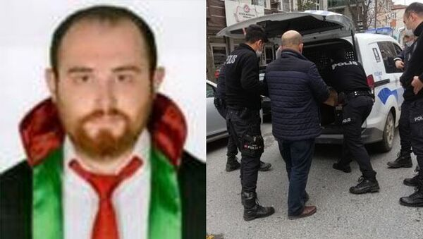 Avukat Ersin Arslan, - Sputnik Türkiye