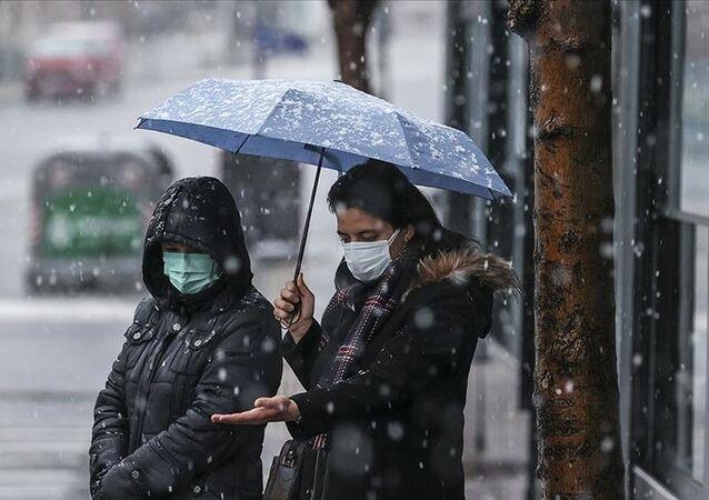 Ankara / kar yağışı / mart 2021