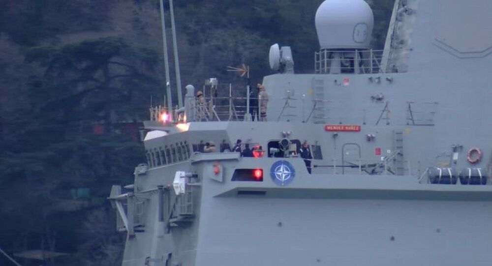 İspanya Deniz Kuvvetleri'ne ait Mendez Nunez