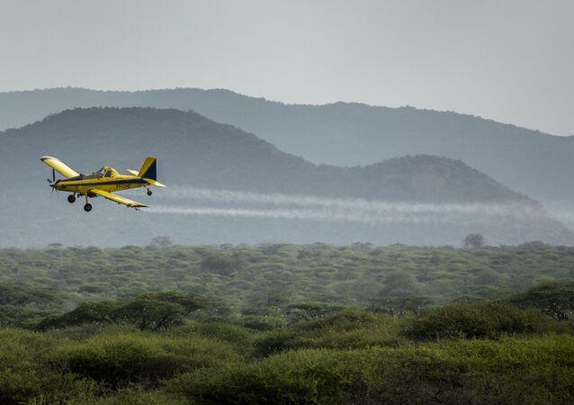 zirai ilaçlama uçağı