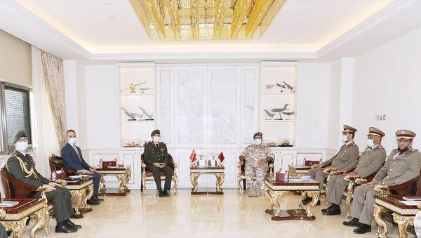 Katar ve Türkiye, askeri işbirliğini geliştirmenin yollarını görüştü - Sputnik Türkiye