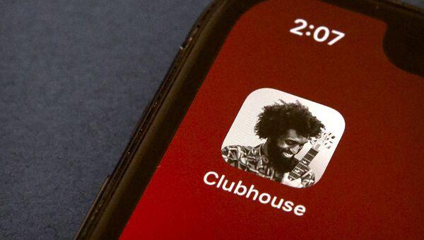 Clubhouse - logo - Sputnik Türkiye