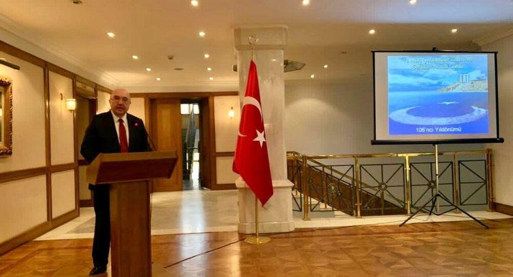 Rusya'da 18 Mart Çanakkale Zaferi ve Şehitleri Anma Günü töreni düzenlendi