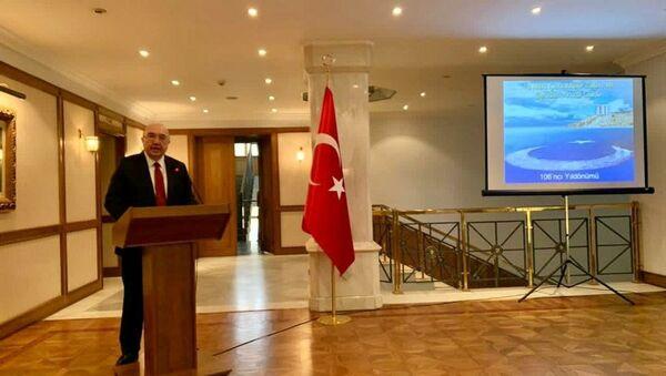 Rusya'da 18 Mart Çanakkale Zaferi ve Şehitleri Anma Günü töreni düzenlendi - Sputnik Türkiye