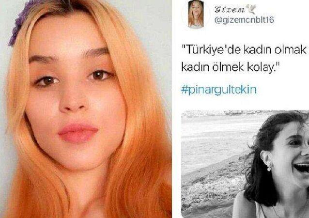 Gizem Canbulut'un kadın cinayetleriyle ilgili paylaşımları
