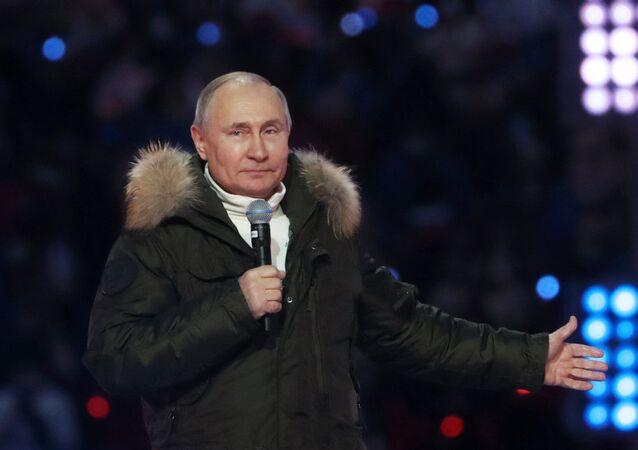 Putin: Rusya yeni jeopolitik koşullarda yaşamaya hazır