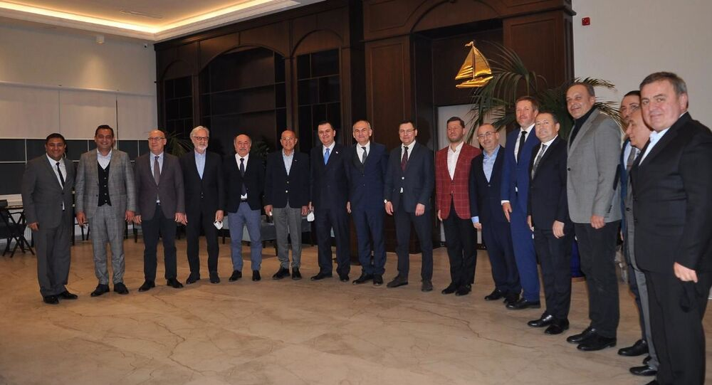 Rus-Türk Ticaret Evi ROST, Türkiye'deki ikinci ofisini İskenderun'da açtı