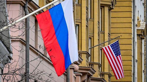 Rusya - ABD - bayrak - Sputnik Türkiye
