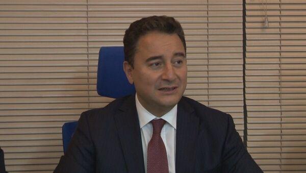 Deva Partisi Genel Başkanı Ali Babacan - Sputnik Türkiye
